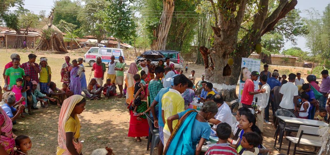 दिनांक 12/6/19 निशुल्क होम्योपैथिक चिकित्सा शिविर # BICHAGUTU ,KHUNTI