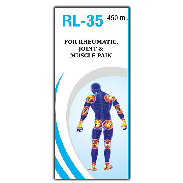 RL-35 Rheumatic Joint & Muscle Pain, Joint Pain, Nerve Pain Syrup