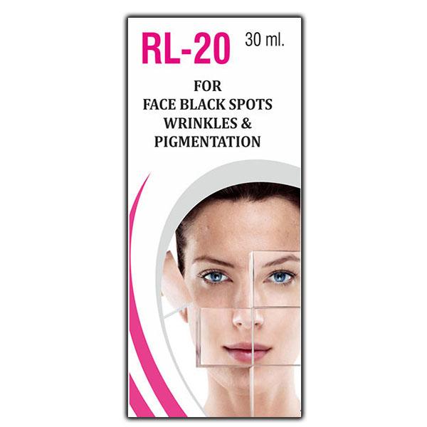 RL-20 For Face Black Spots Wrinkles & Pigmentation Drops