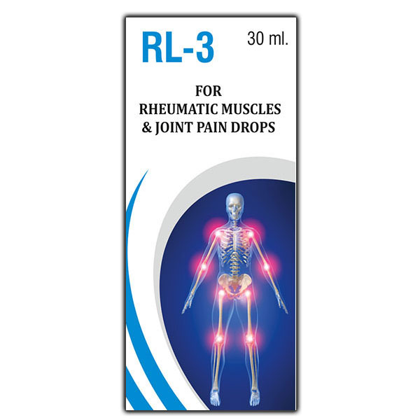 RL-3 Rheumathic Muscles & Joint Pain Drops